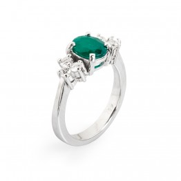 Bakú Rings - Emerald 18k GOLD-