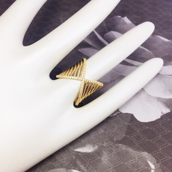 XL HYPERBOLA Rings -18K GOLD-