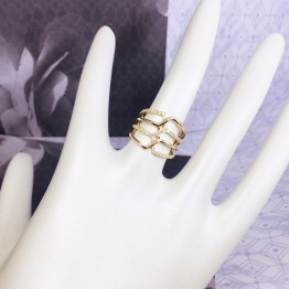XL PARALLELOGRAM RINGS -18K GOLD-